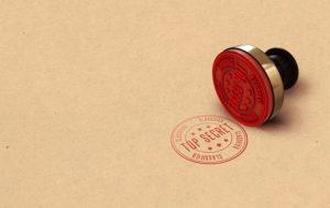 Informacje poufne trzeba chronić, nawet  jeśli nie są  top secret
