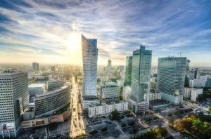 """Warszawskie """"city"""" czyli widok na złote tarasy"""