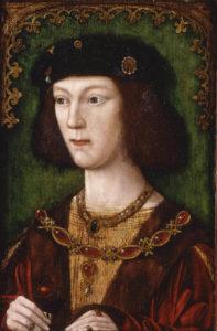Henryk VIII w młodości wyglądał bardzo przeciętnie.