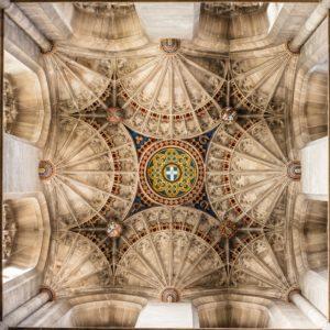 Angielska wersja gotyckiego sklepienia
