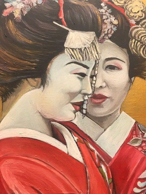 Obrazy w czasach zarazy -Japonki
