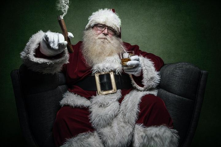 Zły Mikołaj :)